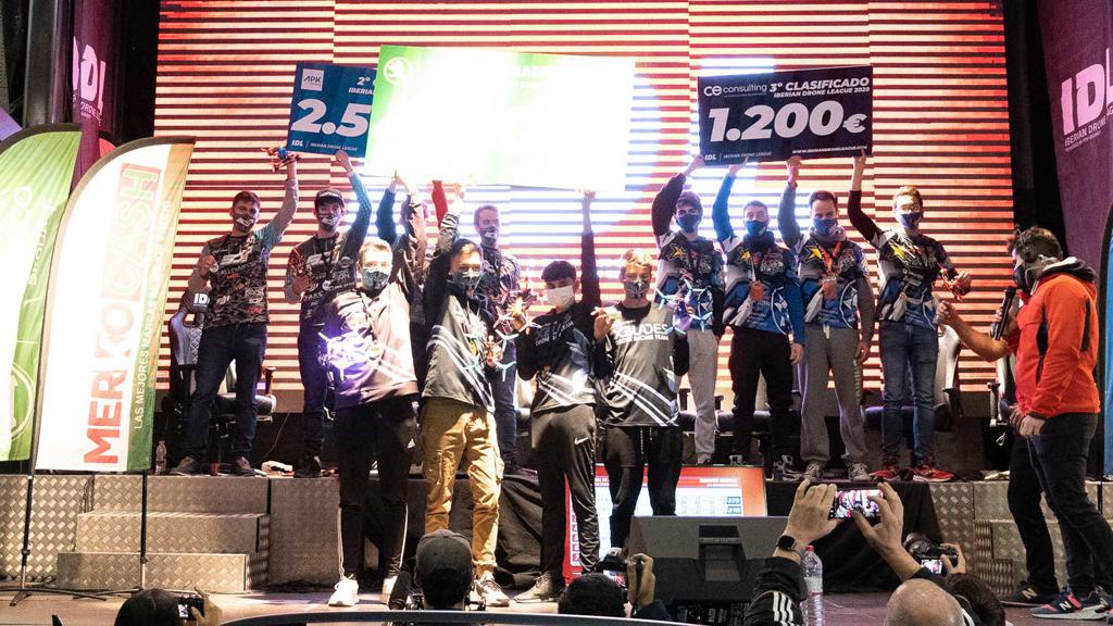 XBlades gana el GP4 en Madrid y se proclama campeón de la segunda edición de la IDL